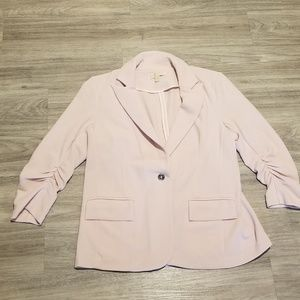 Michael Kors jacket blazer light pink liek new